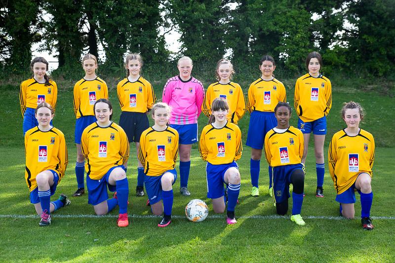 Girls soccer team Douglas Cork